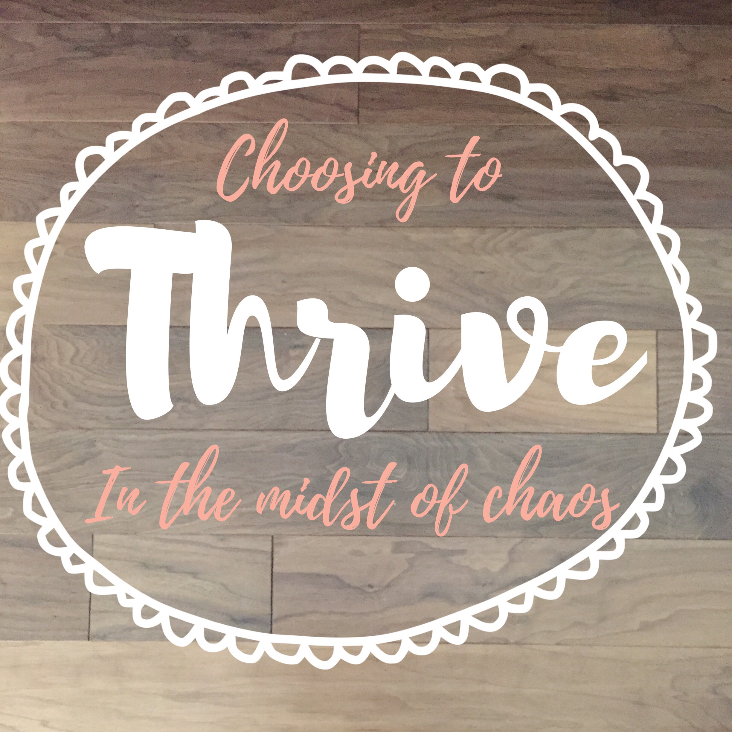 Choosing to Thrive