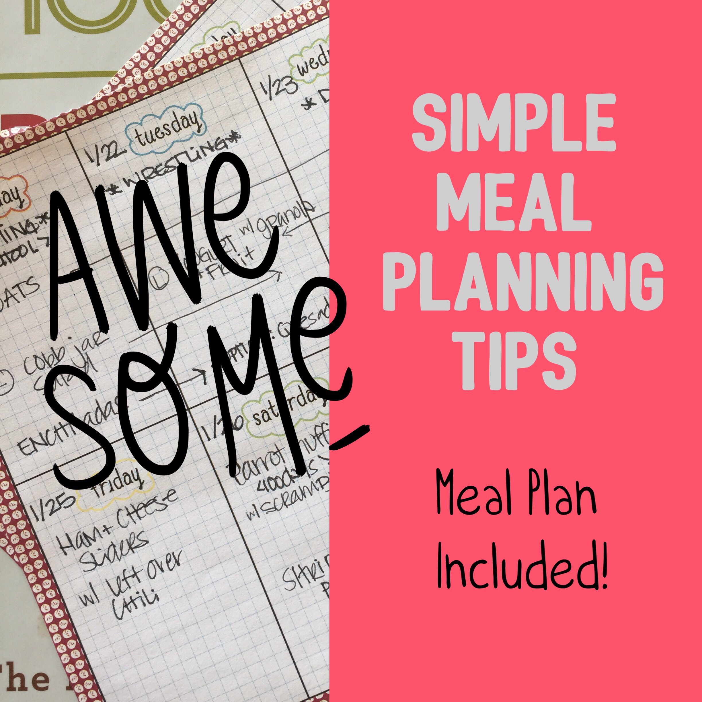 Meal Planning Feature